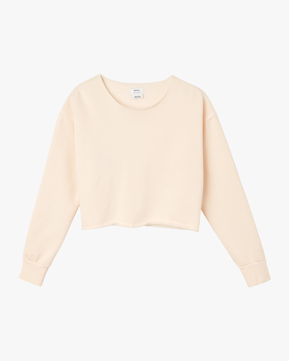 5 Stranger Cropped Sweater Pink W603SRST RVCA