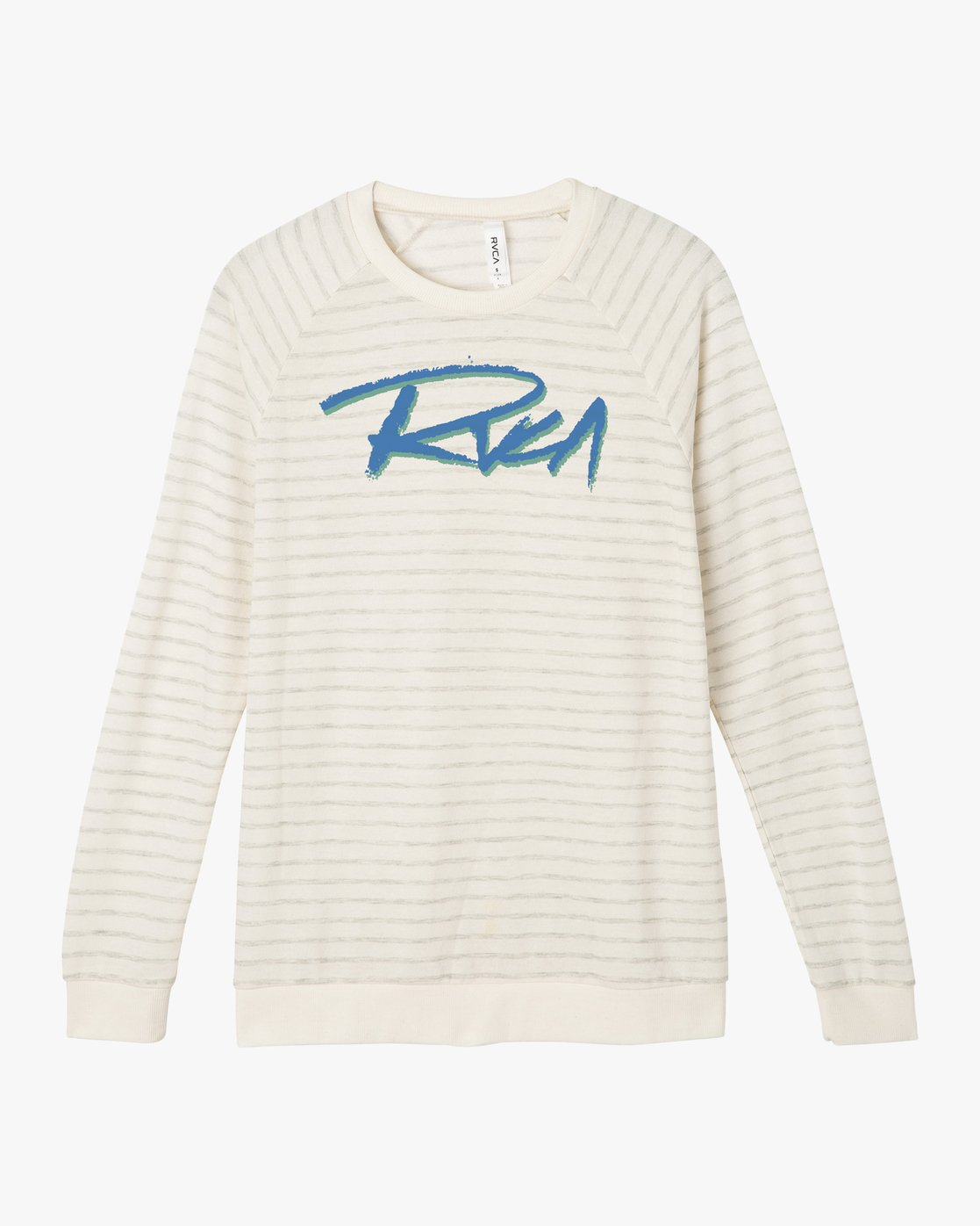 5 Skratch Fleece Sweatshirt White W608PRSK RVCA