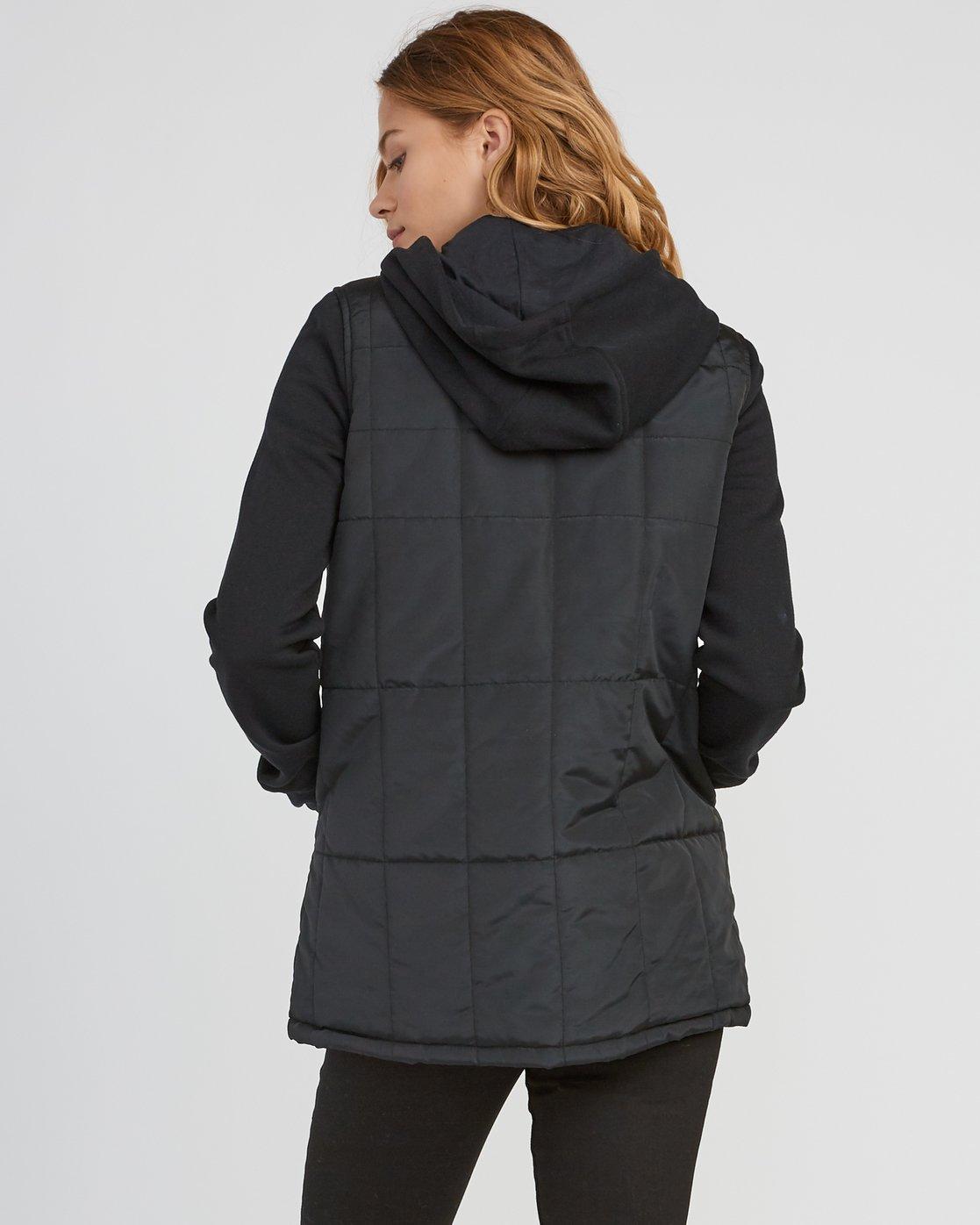 4 Pidy Longline Jacket  W609SRPI RVCA