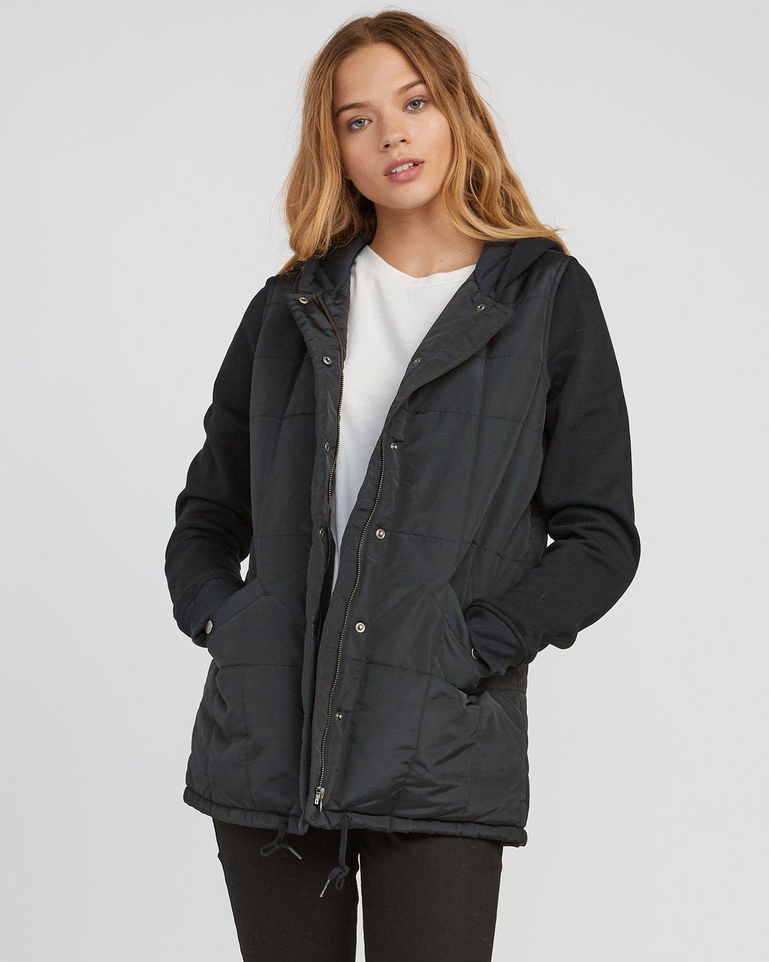 0 Pidy Longline Jacket  W609SRPI RVCA