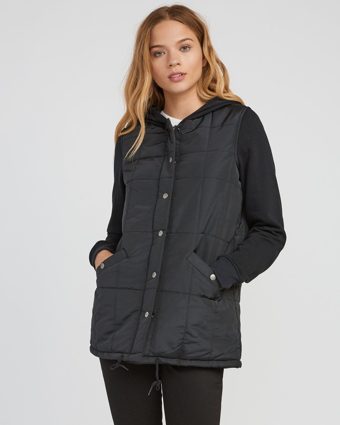1 Pidy Longline Jacket  W609SRPI RVCA
