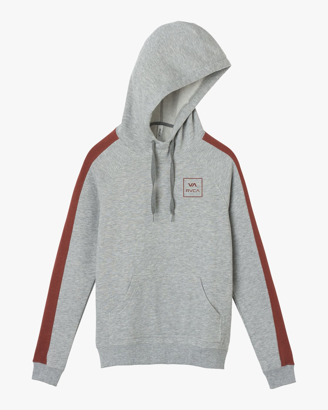 4 VA All The Way Colorblocked Hoodie  W612QRVA RVCA