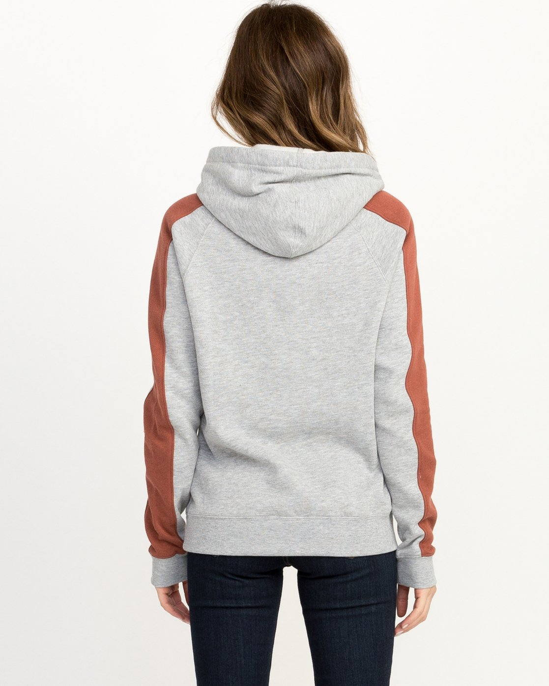 2 VA All The Way Colorblocked Hoodie  W612QRVA RVCA