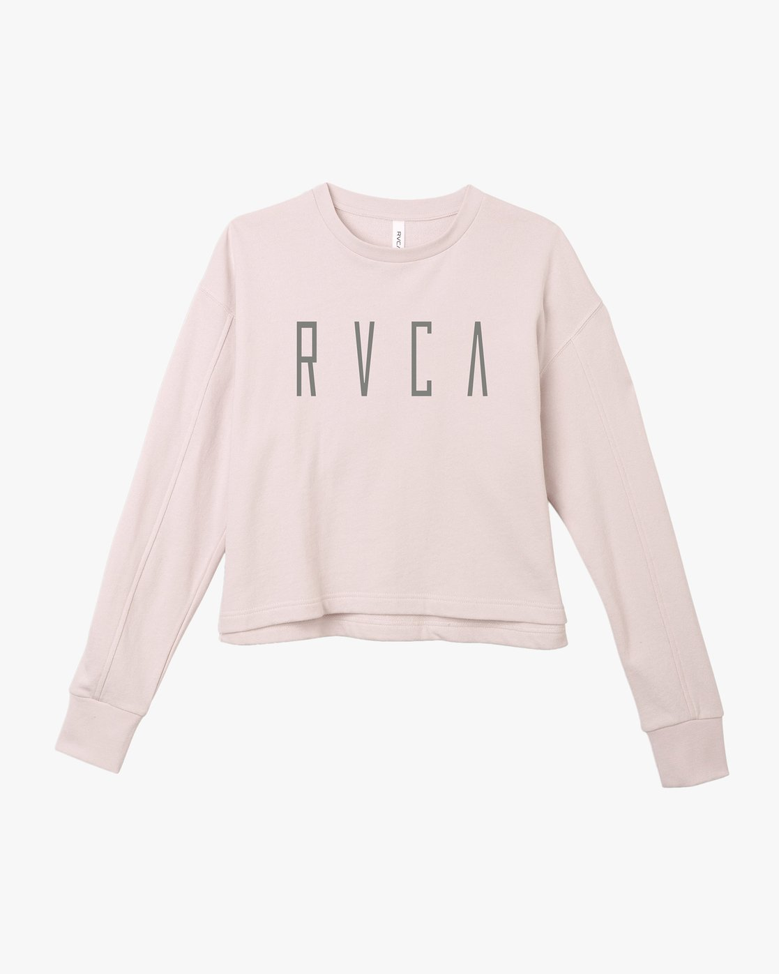5 Stilt Fleece Pullover Grey W619TRSI RVCA