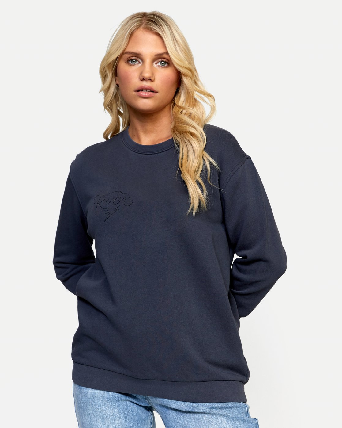 1 STRUCK PULLOVER Green W6432RST RVCA