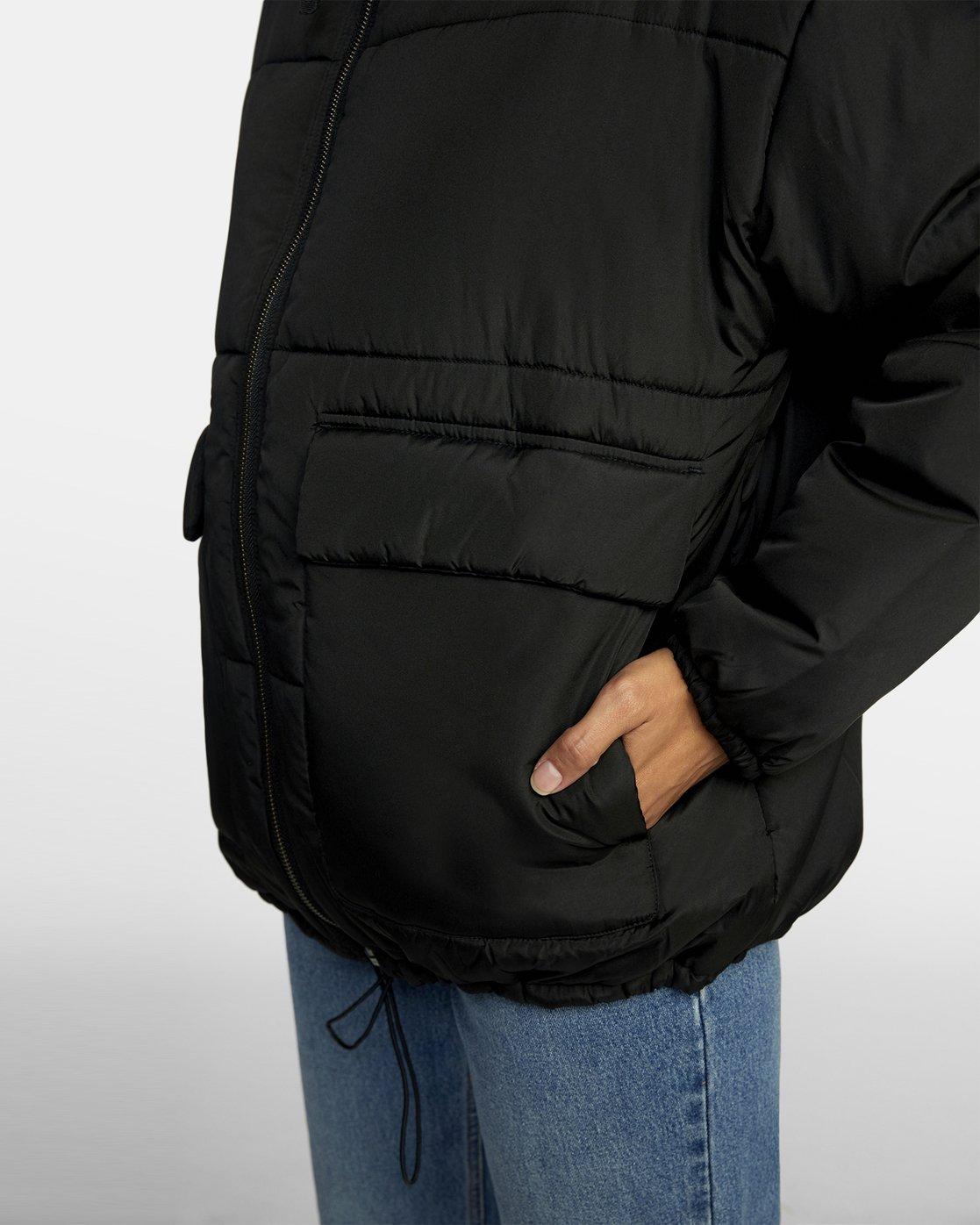 3 MAMMOTH PUFFA JACKET Black W7063RMA RVCA