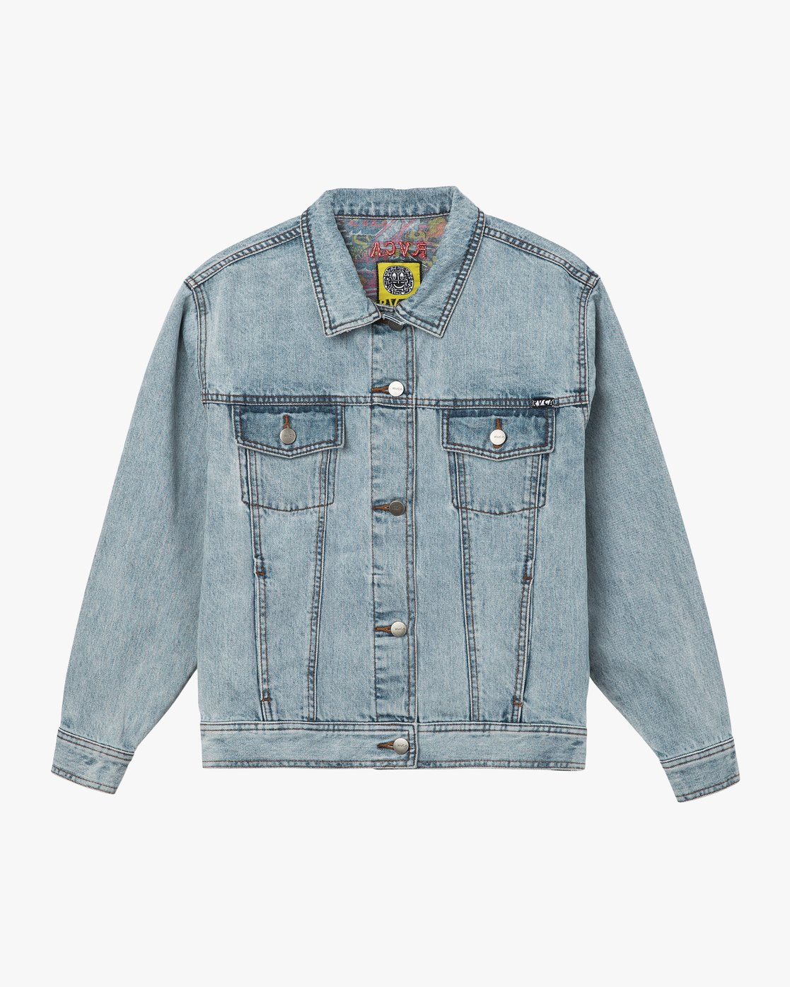 5 Grillo Denim Jacket  W707QRGR RVCA