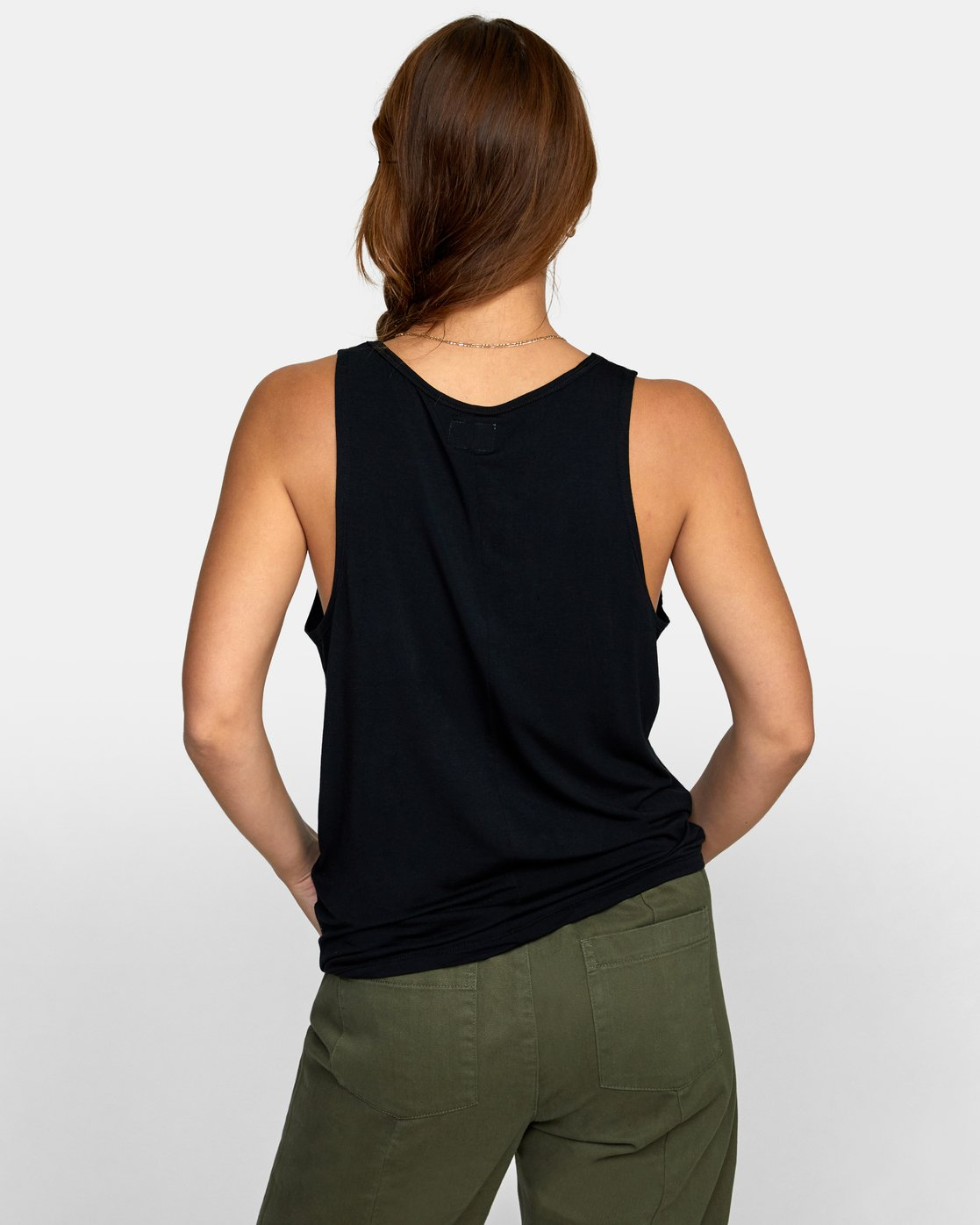 4 MINTED TANK TOP Black W9021RMI RVCA