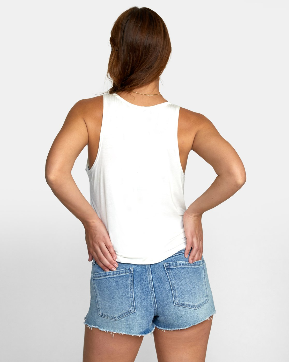 1 MINTED TANK TOP White W9021RMI RVCA