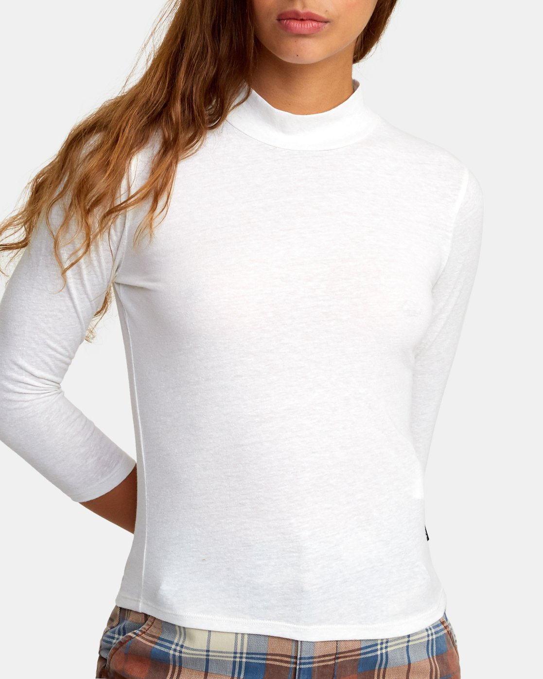 3 Jaye Knit Top White W902WRJA RVCA