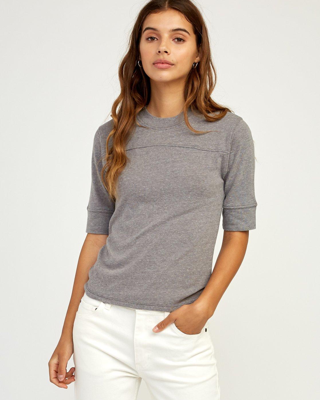 0 Stitched Knit T-Shirt  W905TRST RVCA