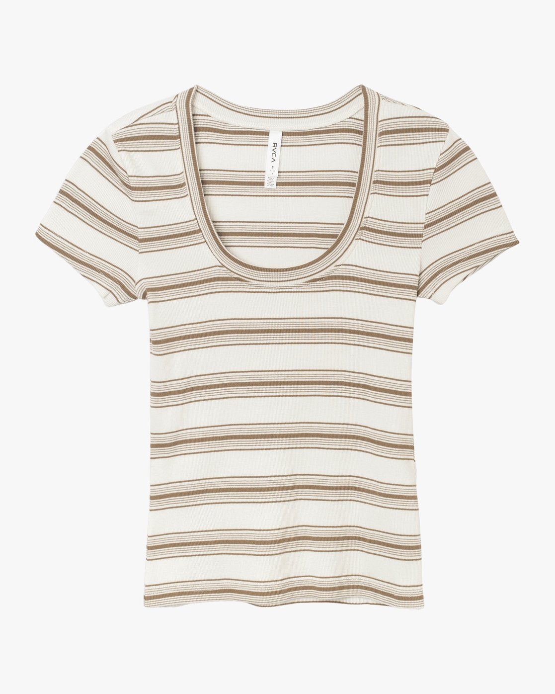 5 Seasons Change Striped Top Beige W907TRSC RVCA