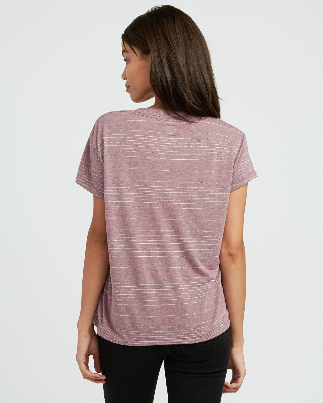 2 Suspension 2 Knit T-Shirt Pink W913SRSU RVCA