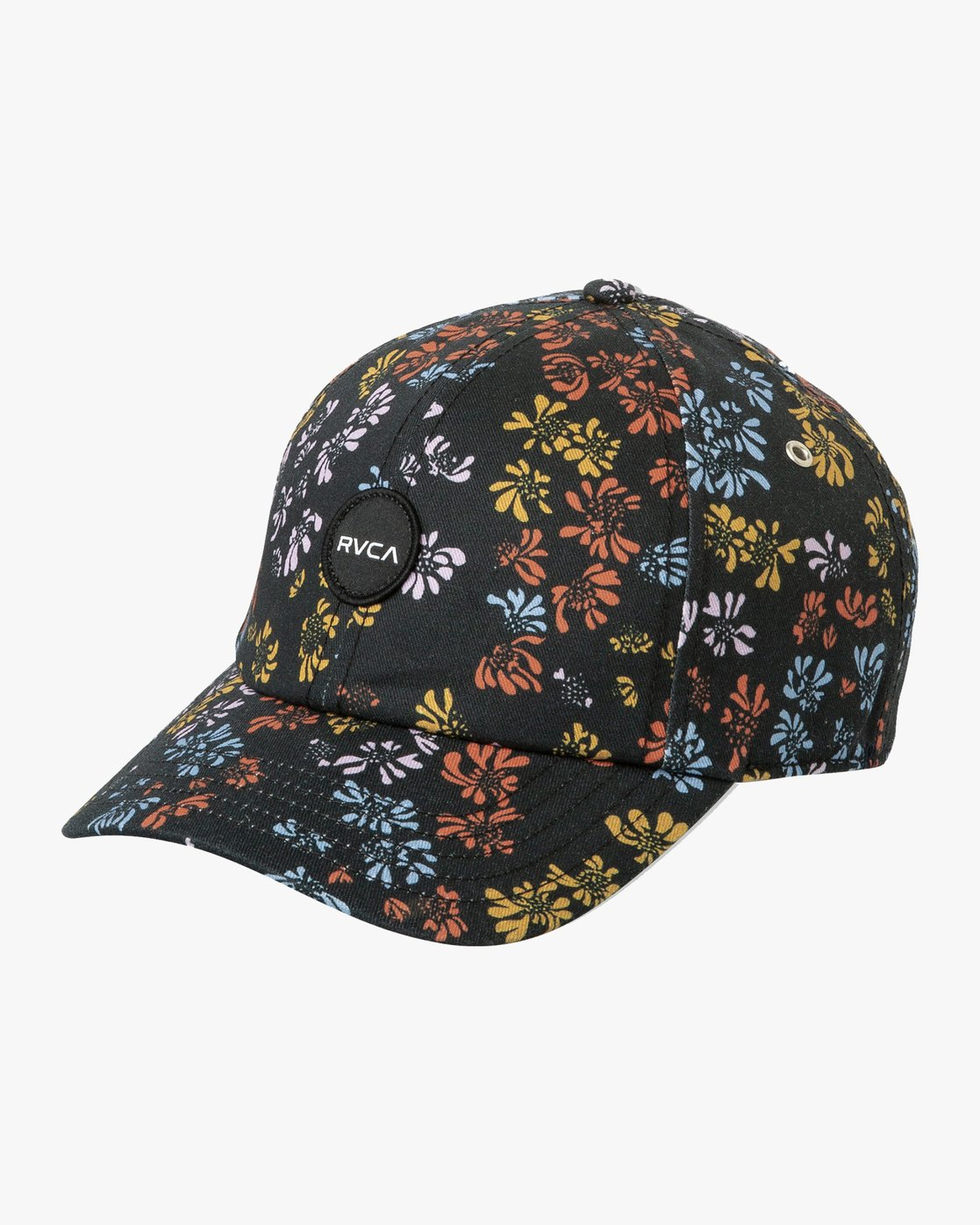 0 Holla Dad Hat Black WAHWTRHO RVCA