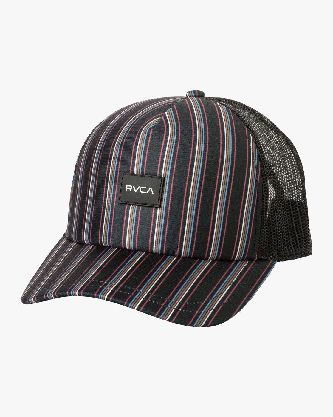 0 Talum Trucker Hat Black WAHWTRTA RVCA