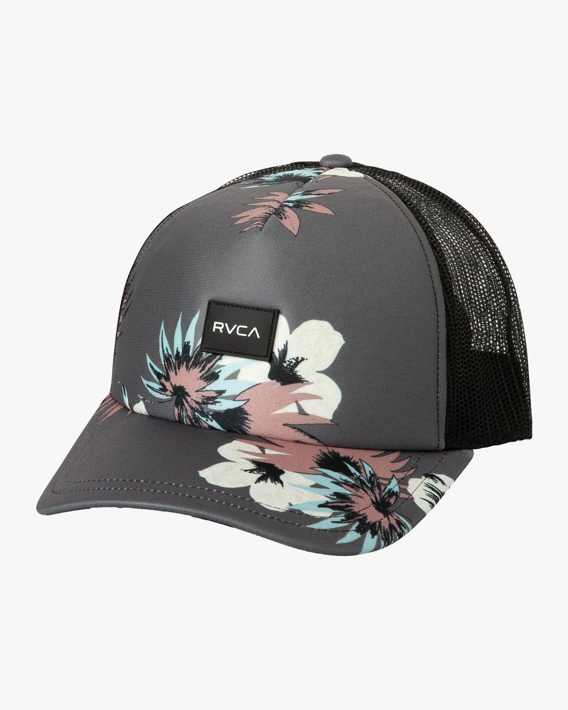 0 Talum Trucker Hat Grey WAHWTRTA RVCA