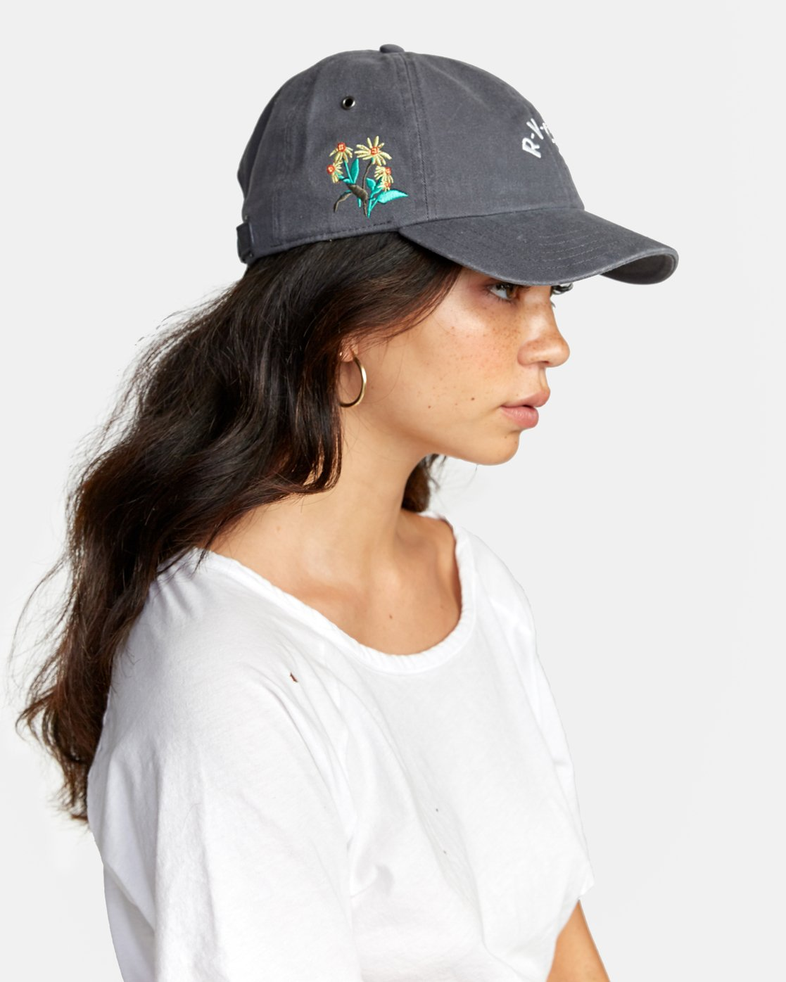 1 STAPLE DAD HAT Green WAHWWRST RVCA