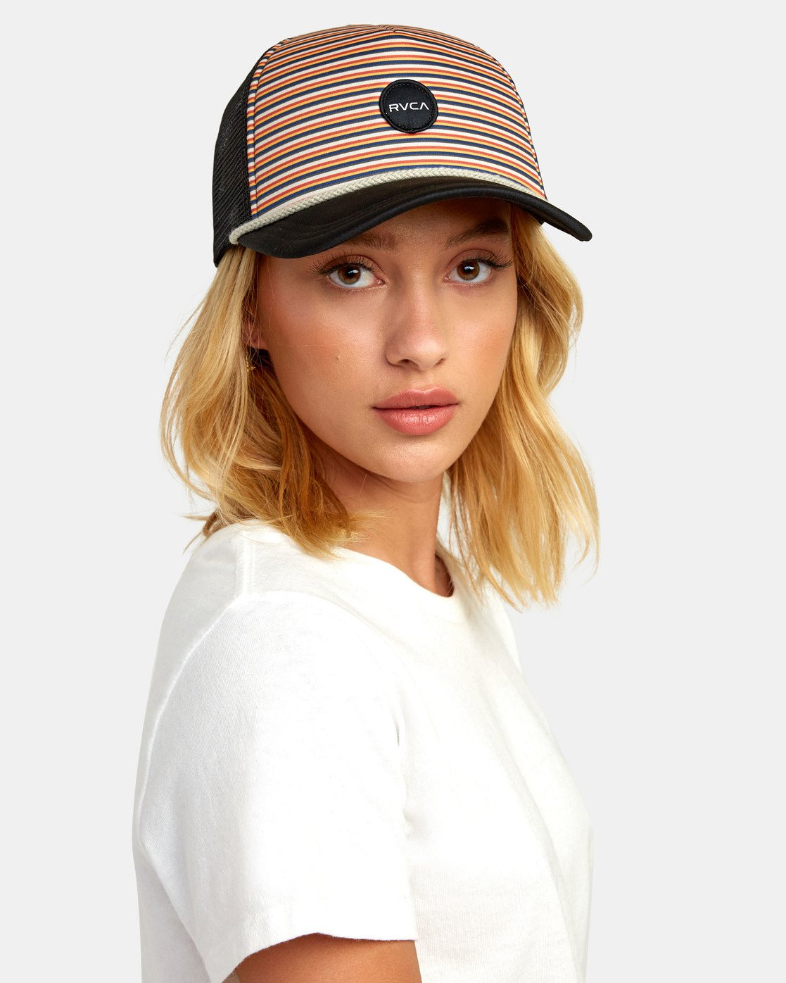 1 UNPHASED TRUCKER HAT Multicolor WAHWWRUN RVCA