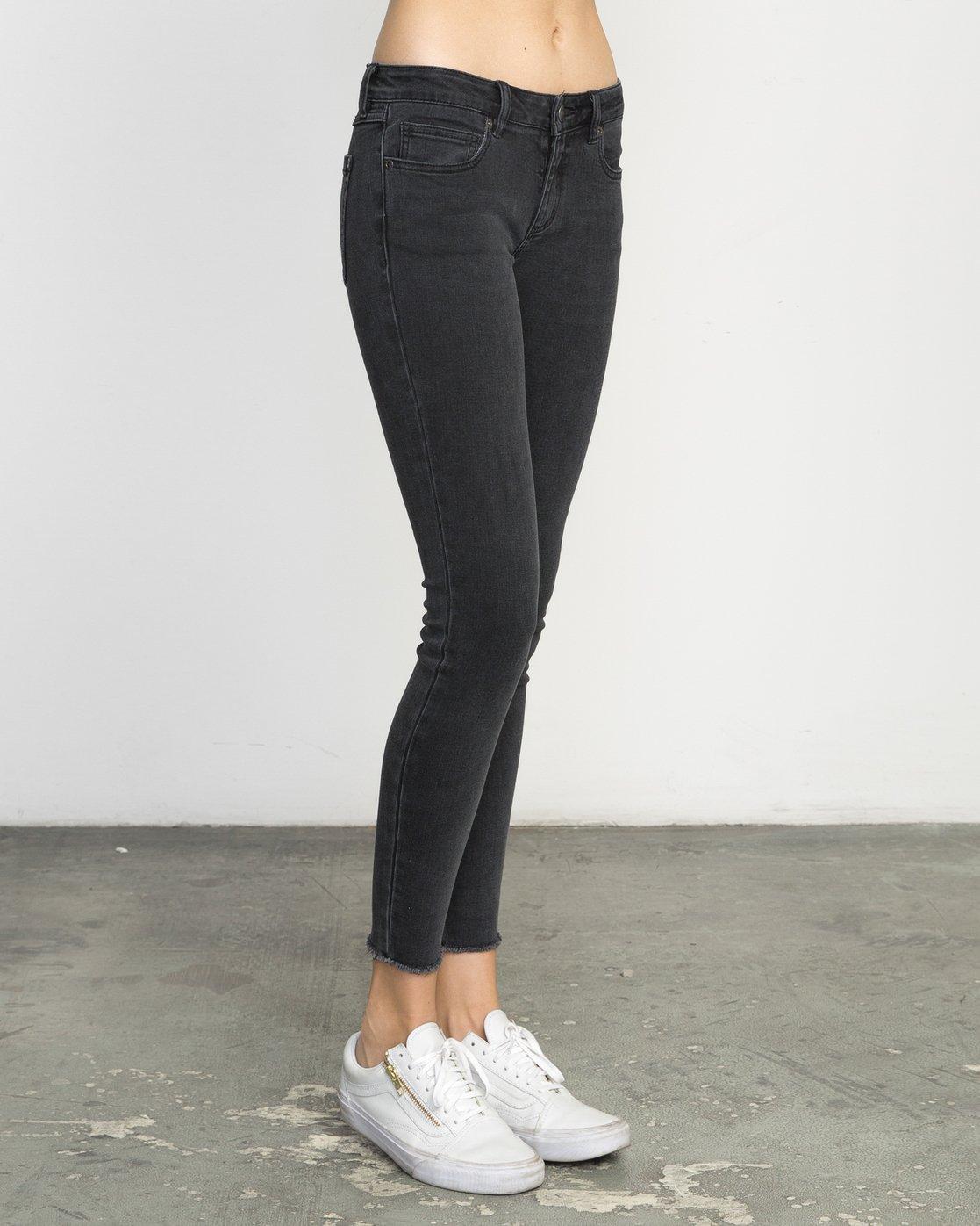 5 Dayley Mid Rise Denim Jeans  WCDP02DA RVCA