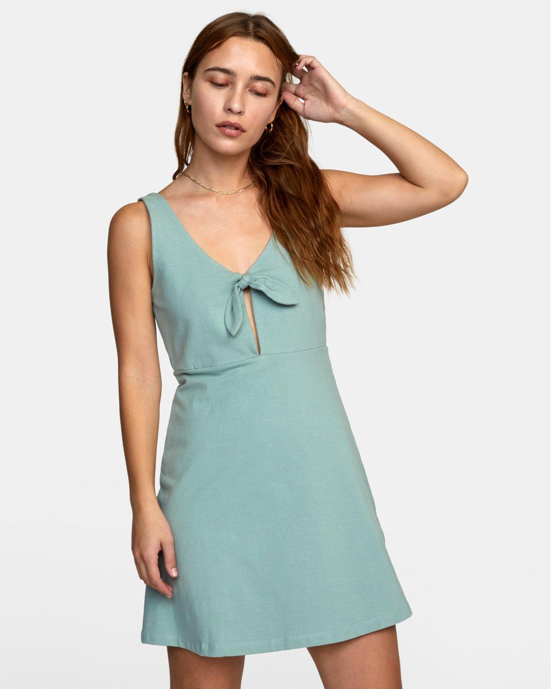 0 DENZEL DRESS Blue WD012RDE RVCA