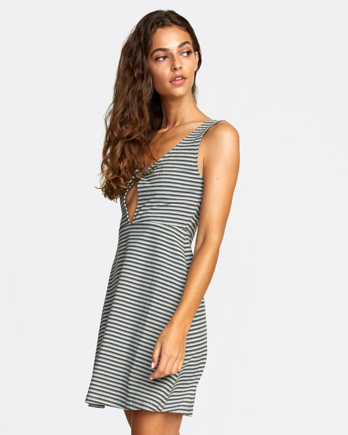 2 DENZEL DRESS Grey WD012RDE RVCA