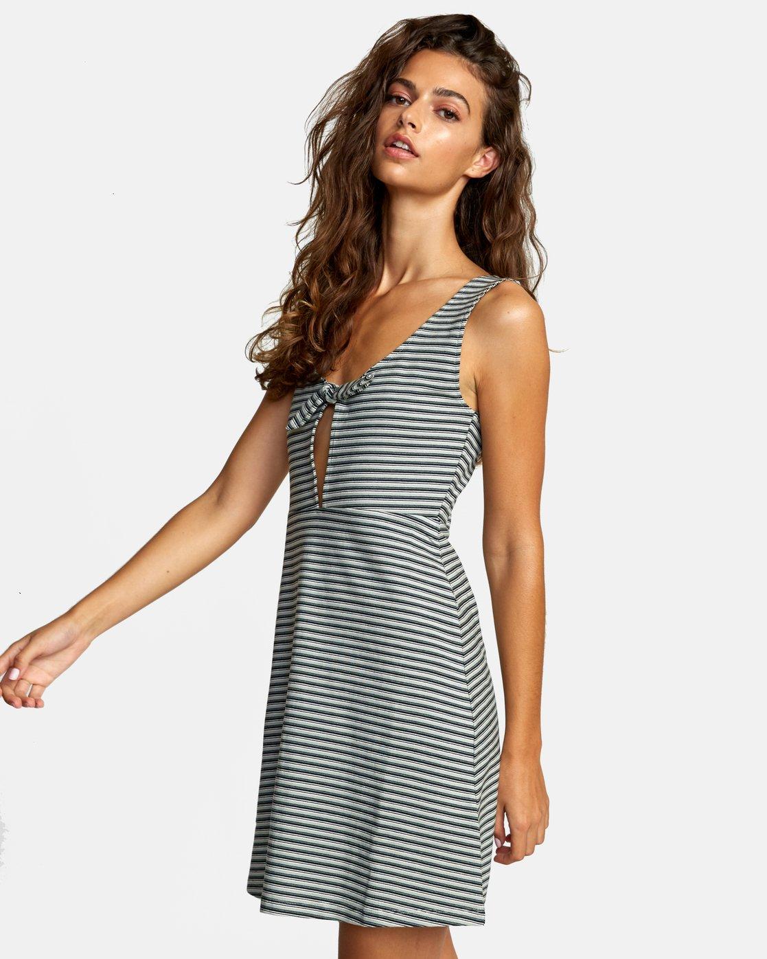 3 DENZEL DRESS Grey WD012RDE RVCA
