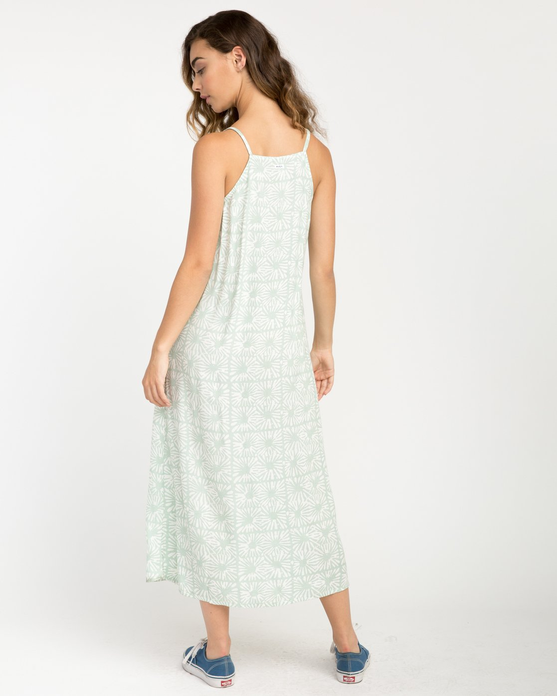4 Garland Midi Dress Green WD01PRGA RVCA