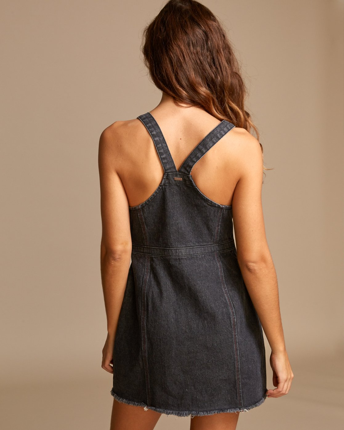 1 Ace Denim Dress Black WD01VRAC RVCA