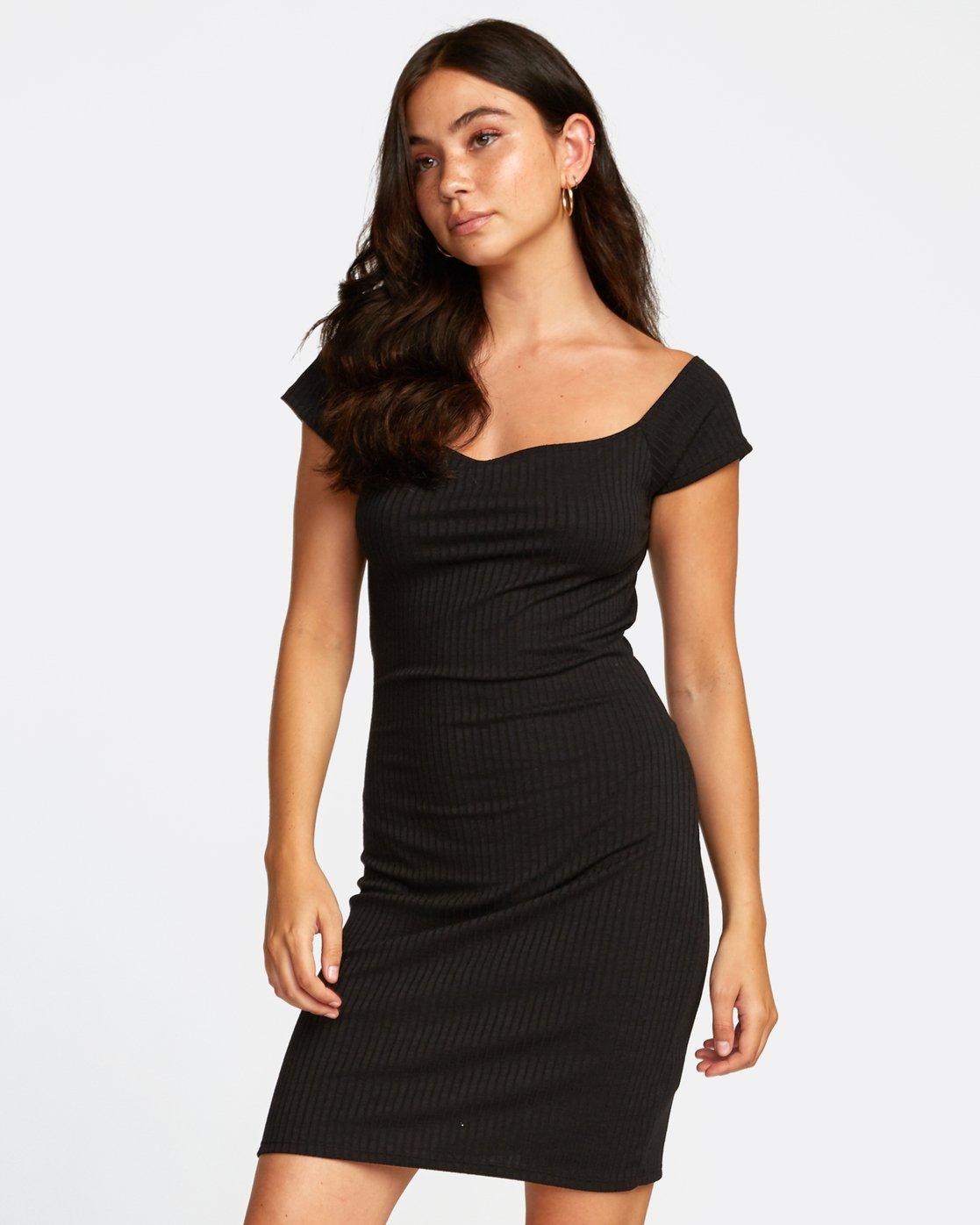 0 LIBRA DRESS Black WD022RLI RVCA