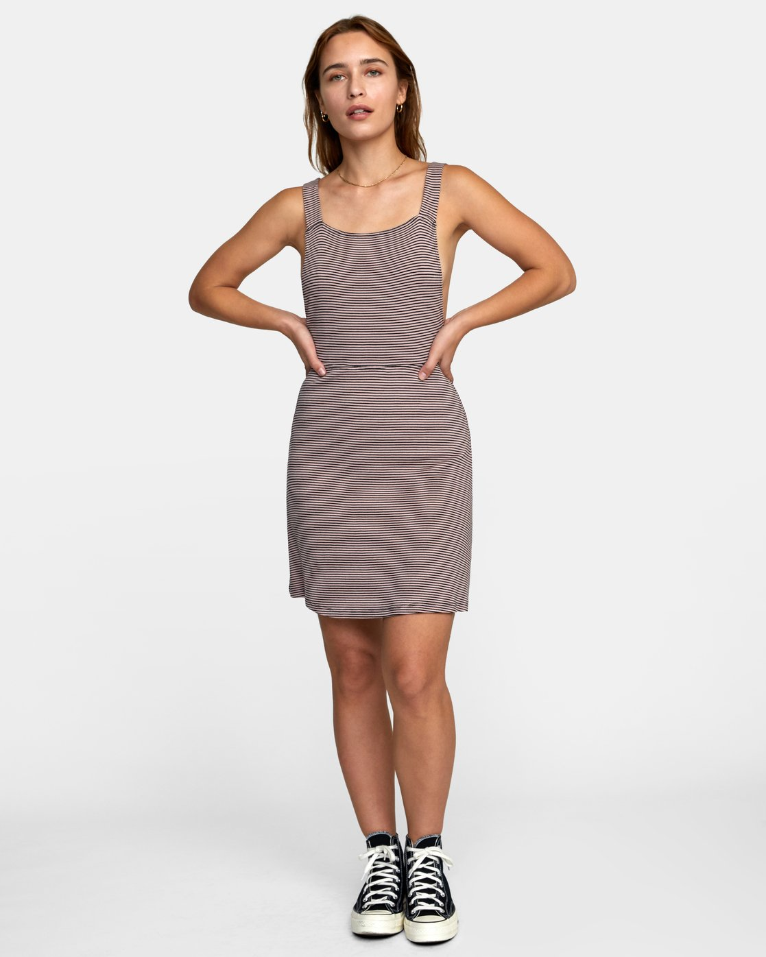 1 BRONWEN DRESS Grey WD032RBR RVCA