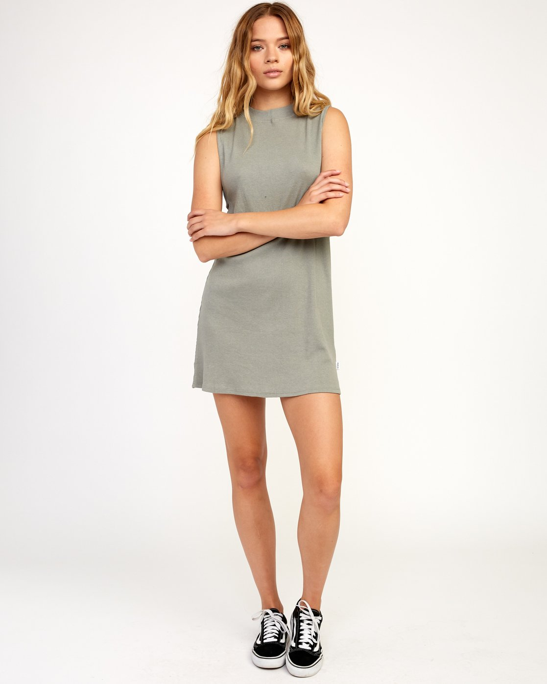 4 Talin Dress Grey WD03TRTA RVCA