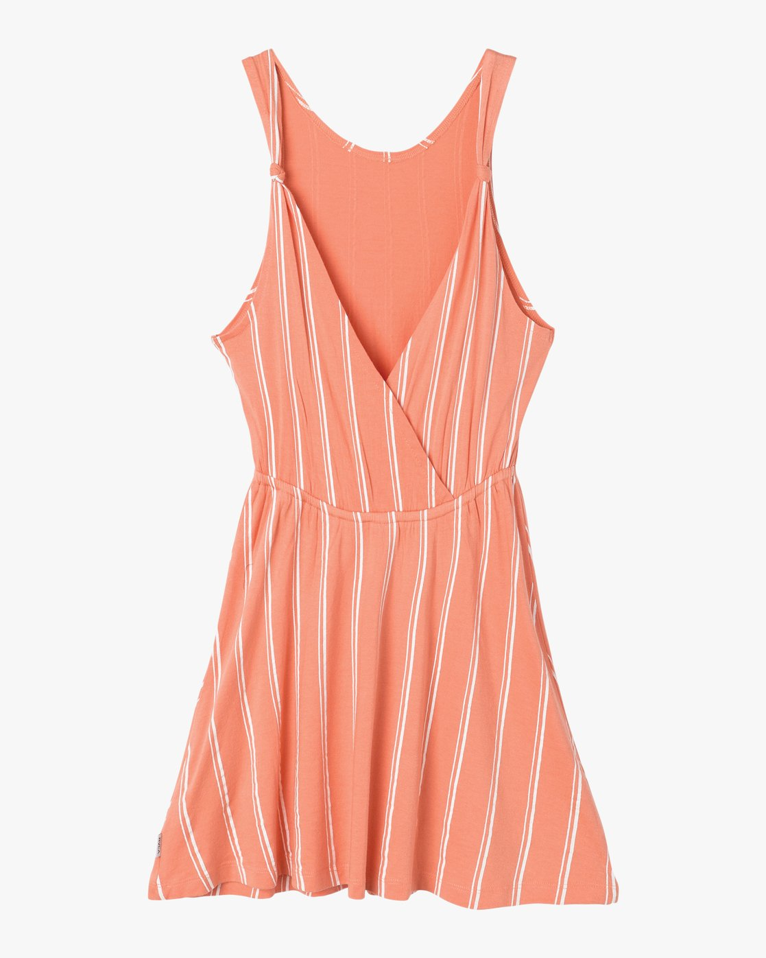 6 Peony Striped Dress Pink WD05PRPE RVCA