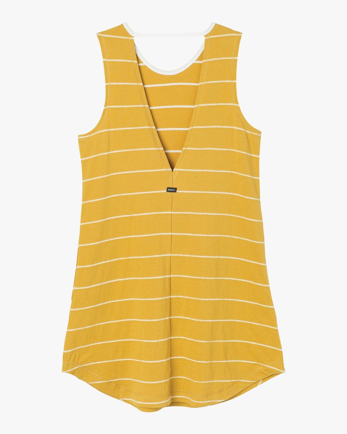 5 Byrdie Striped Knit Dress  WD06NRBY RVCA