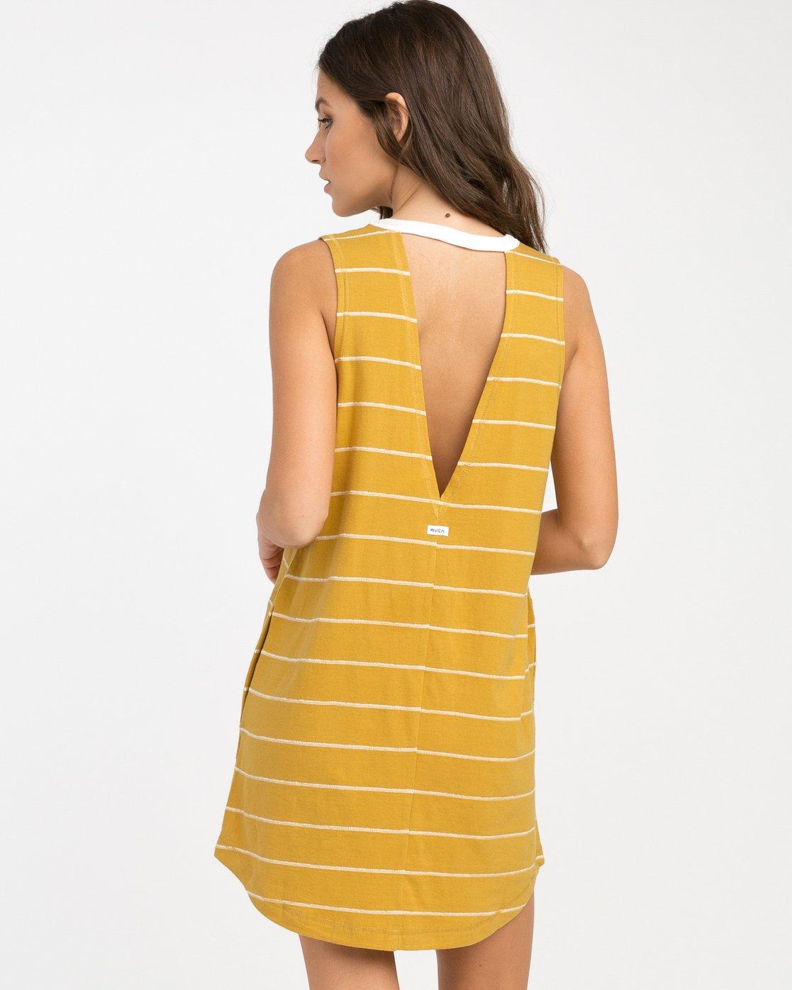2 Byrdie Striped Knit Dress  WD06NRBY RVCA