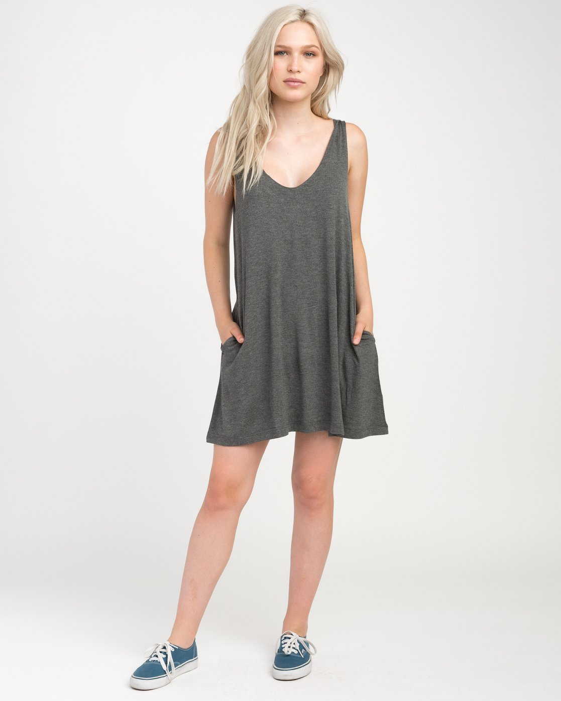 4 Chances Knit Tank Dress  WD07NRCH RVCA