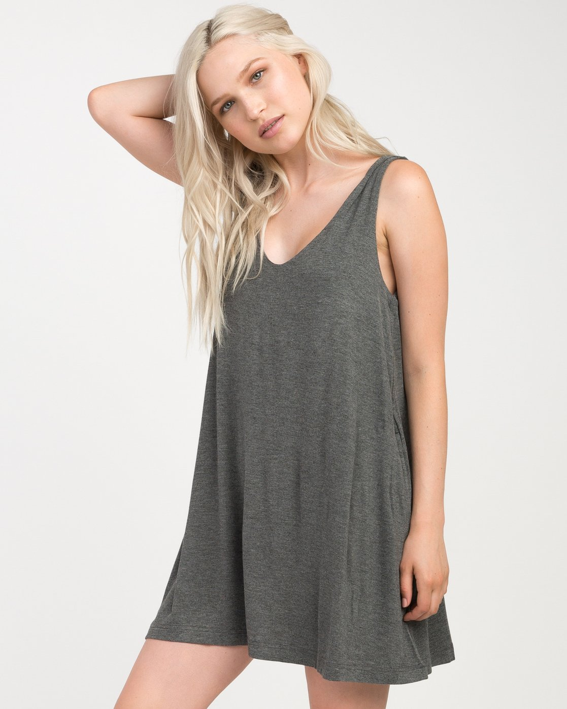 1 Chances Knit Tank Dress  WD07NRCH RVCA