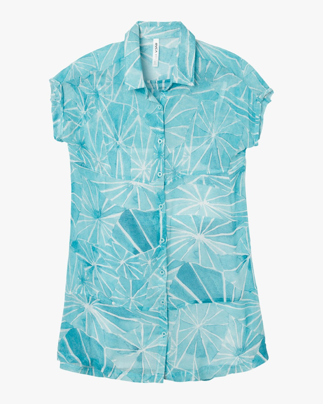 4 Michelle Blade Calapan Dress Blue WD08QRCA RVCA