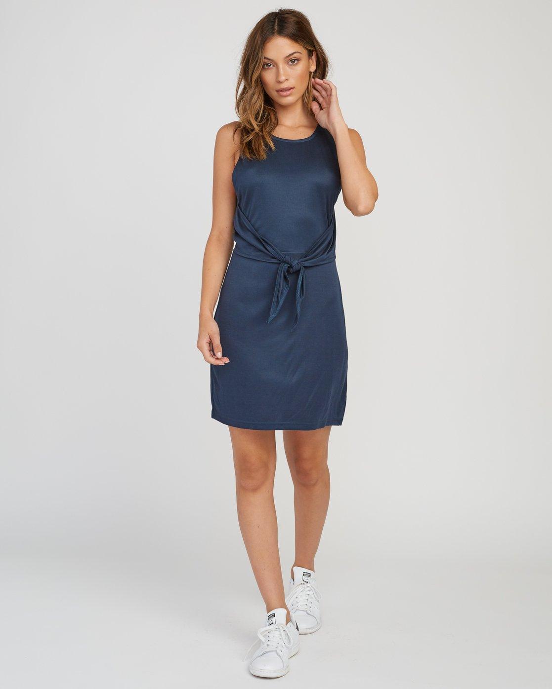 4 Baesic Knotted Dress Grey WD09SRBA RVCA