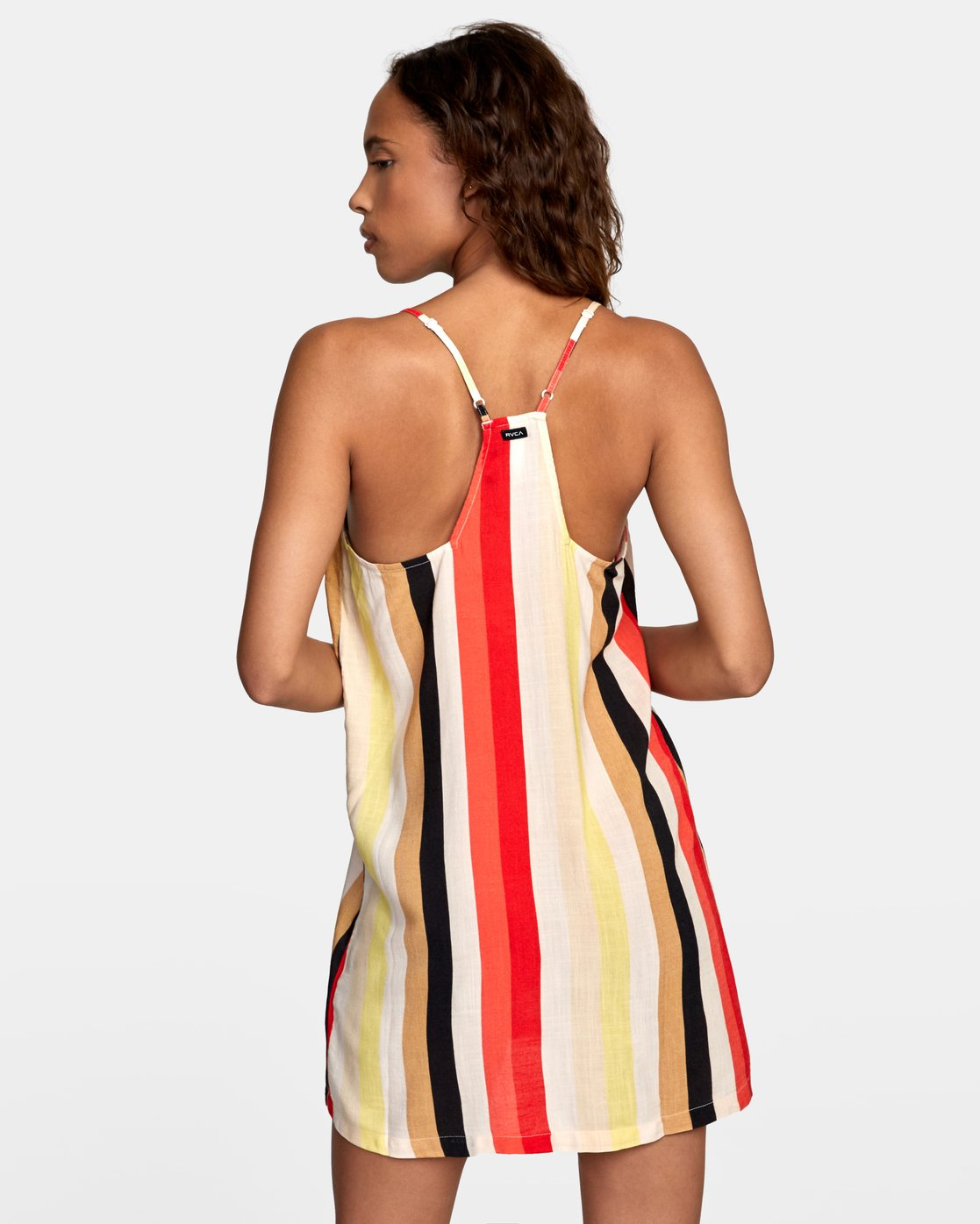 3 Fluke Printed Dress Grey WD09URFL RVCA