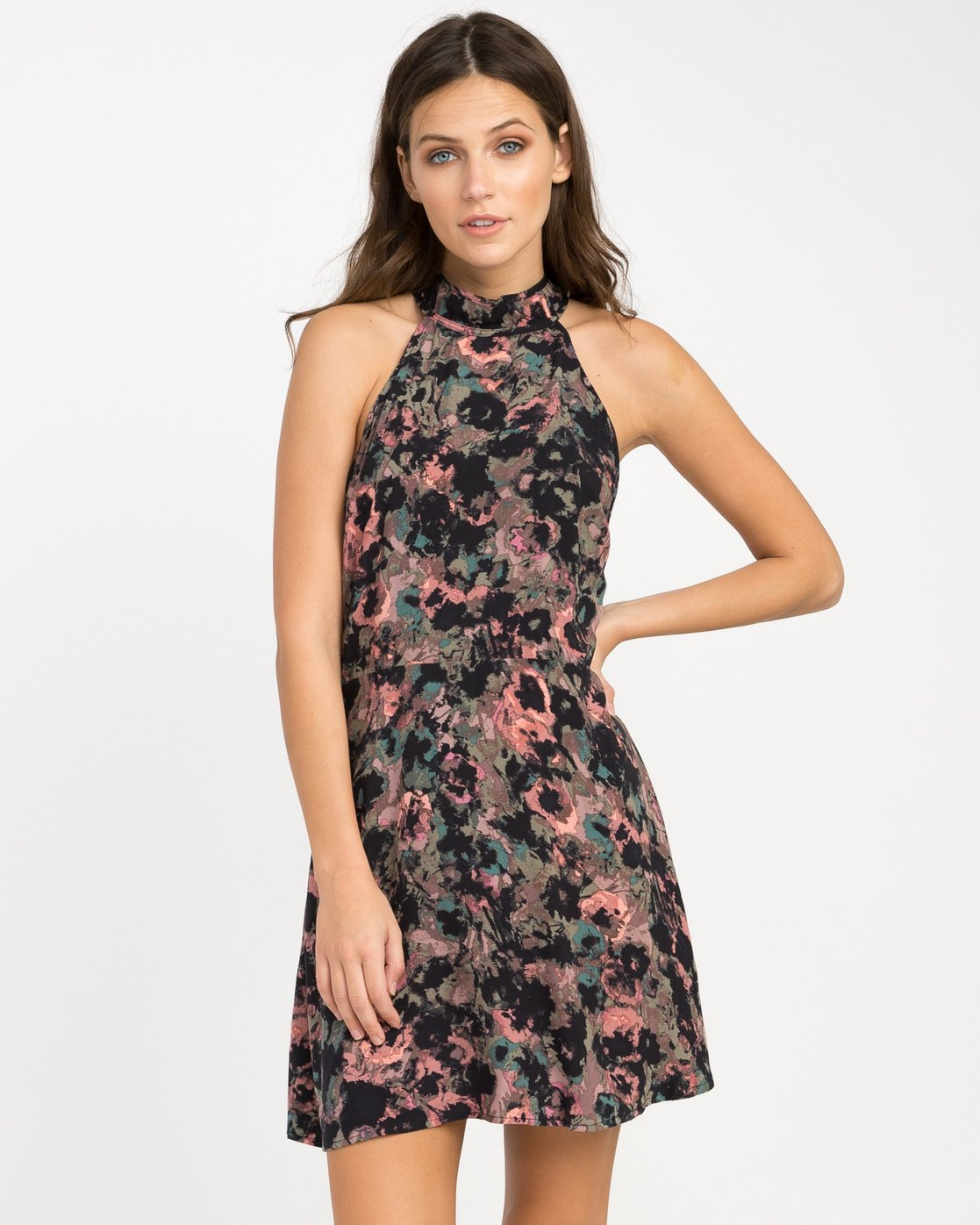 0 Kingsman Floral Dress  WD11NRKI RVCA
