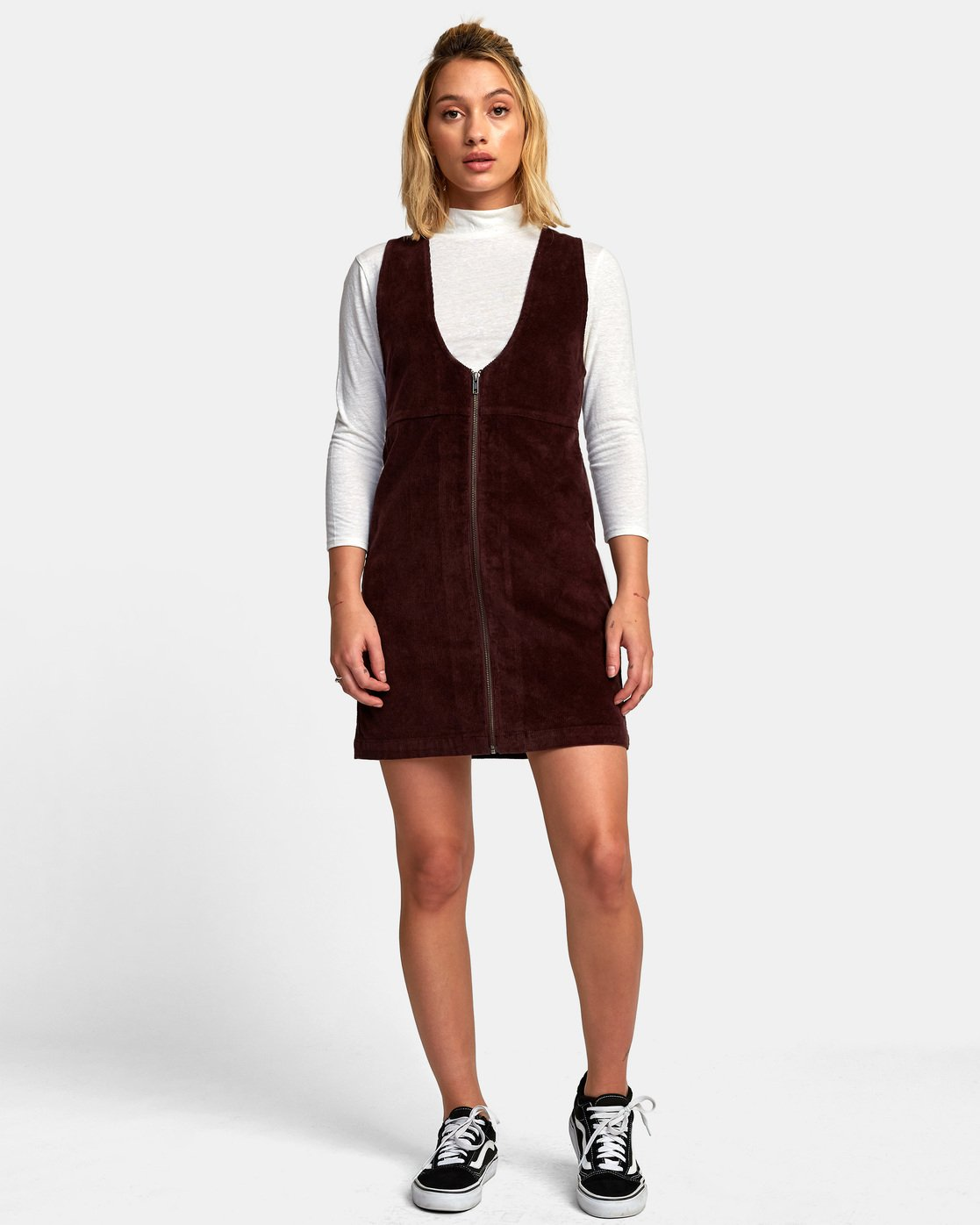 1 North Corduroy Jumper Dress  WD11WRFU RVCA