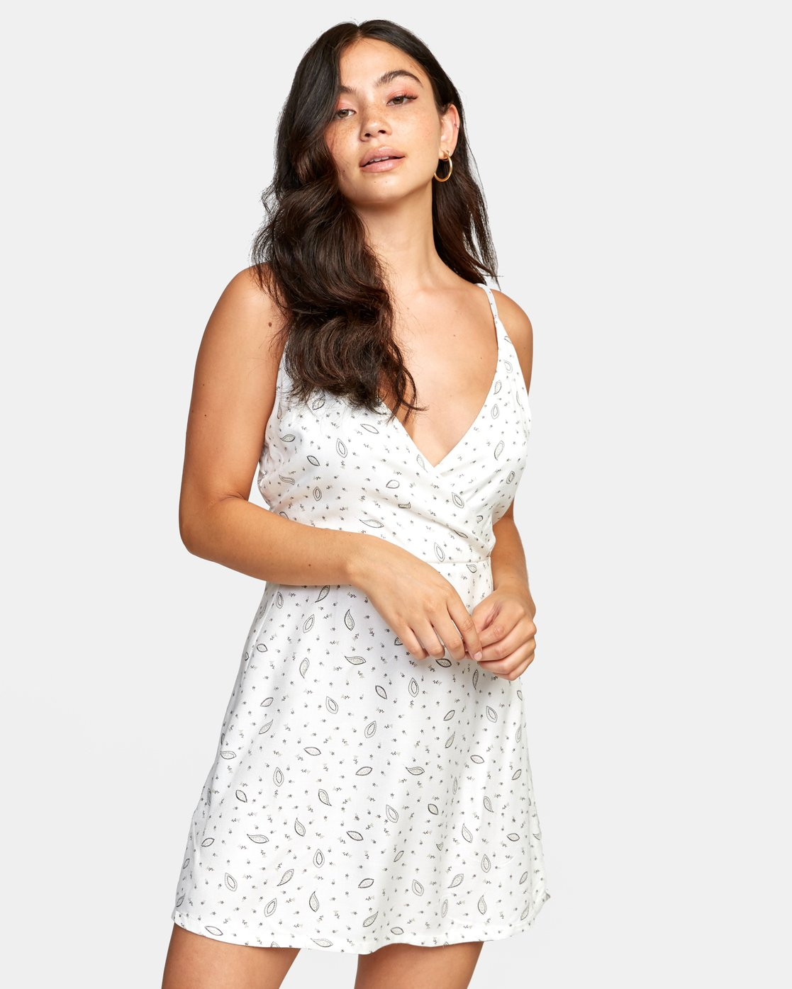0 LACEY DRESS White WD122RLA RVCA