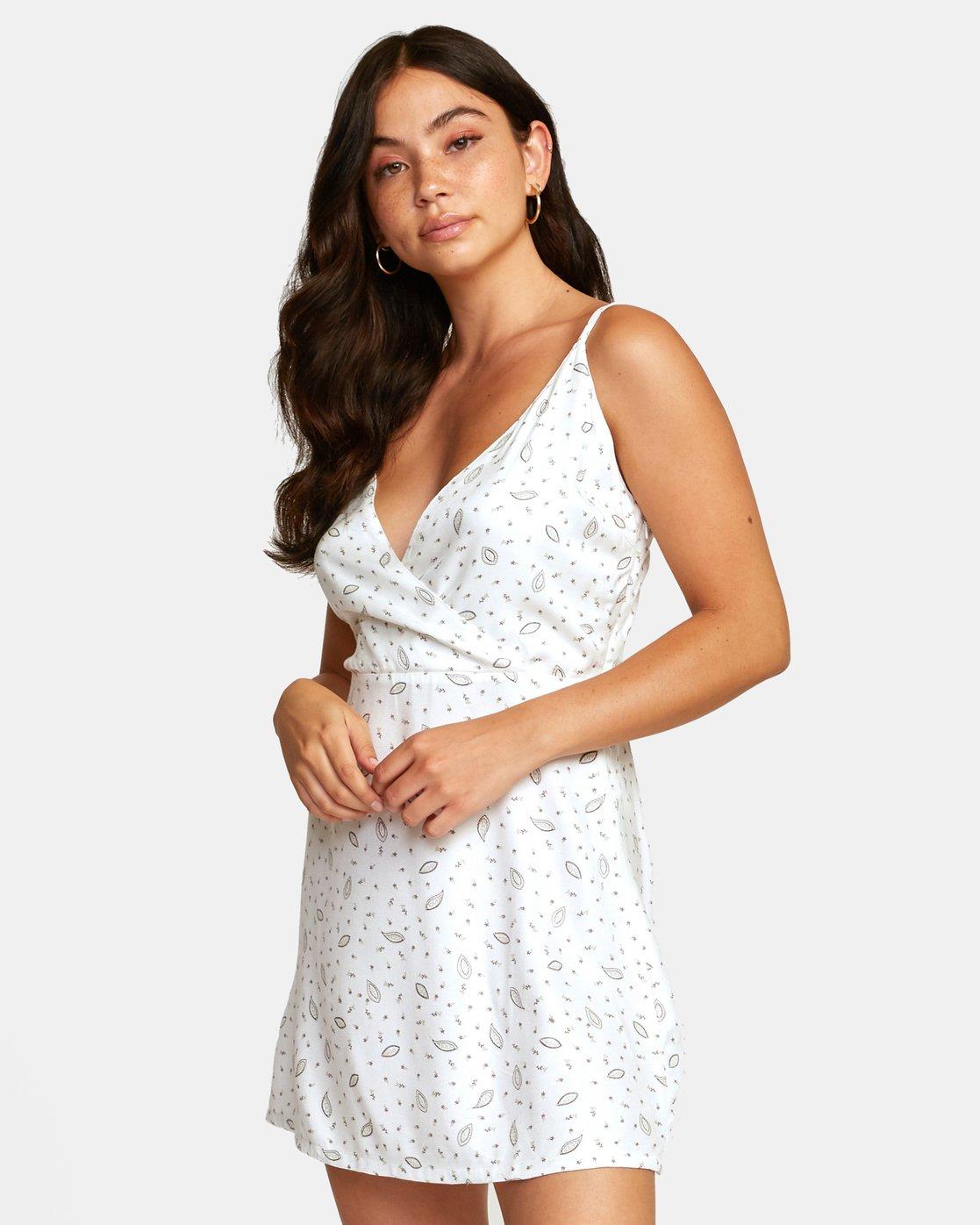 2 LACEY DRESS White WD122RLA RVCA