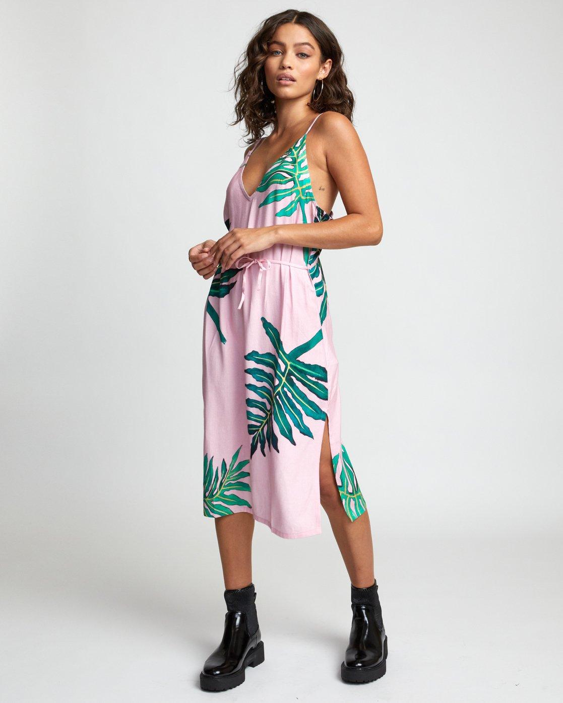 2 PALMER DRESS Pink WD133RPA RVCA