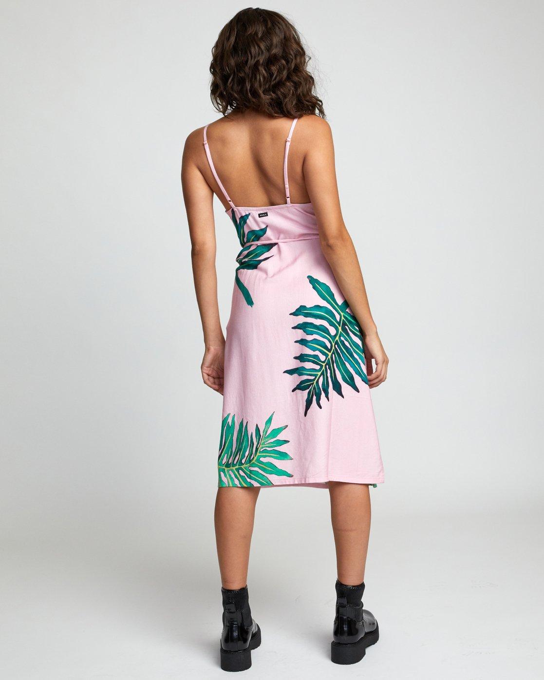 5 PALMER DRESS Pink WD133RPA RVCA