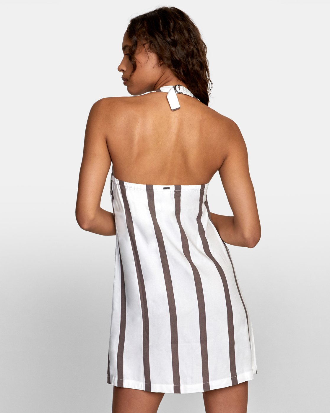 3 90s Baby Halter Dress White WD13TR90 RVCA