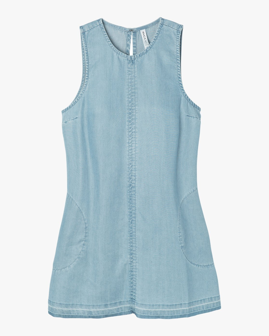 4 Release Chambray Dress Blue WD14NRRE RVCA