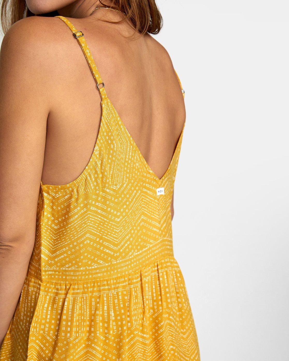 6 Nolan Printed Dress Multicolor WD14QRNO RVCA