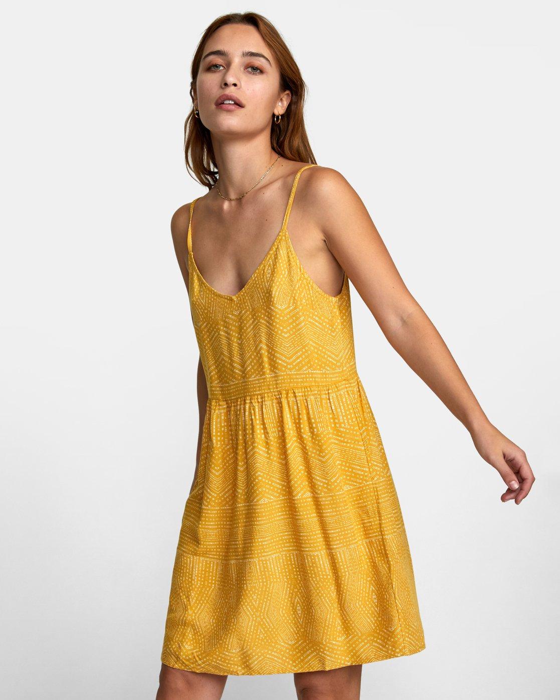 2 Nolan Printed Dress Multicolor WD14QRNO RVCA