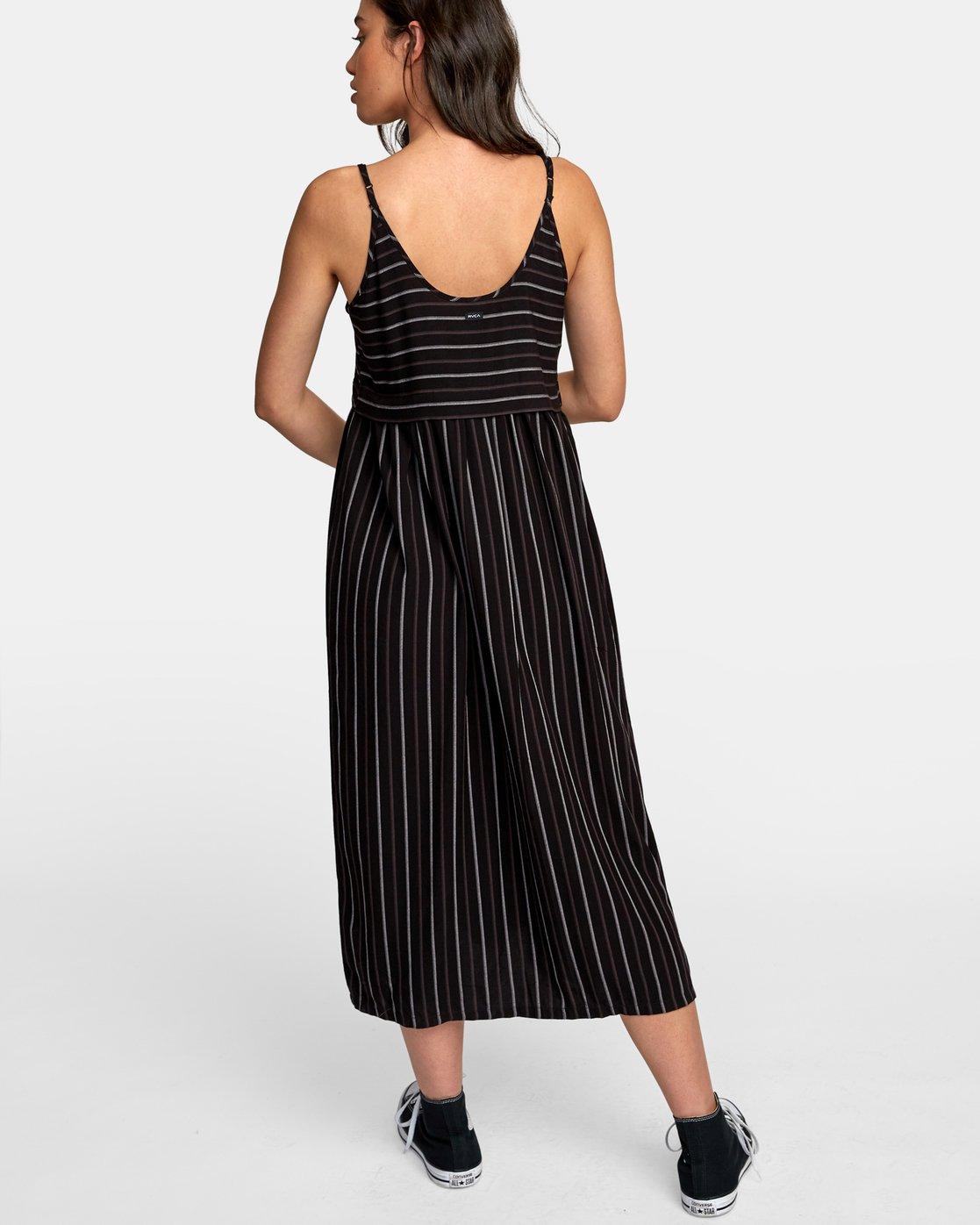 1 Square One Midi Dress Black WD14WRSO RVCA